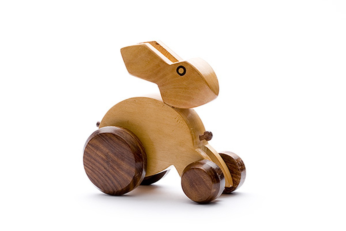 Wooden Toys Product : Buy desi karigar wooden rabbit toy at off in india