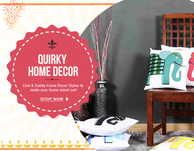 Quirky home decor buy quirky home decor online in india for Home decor quirky