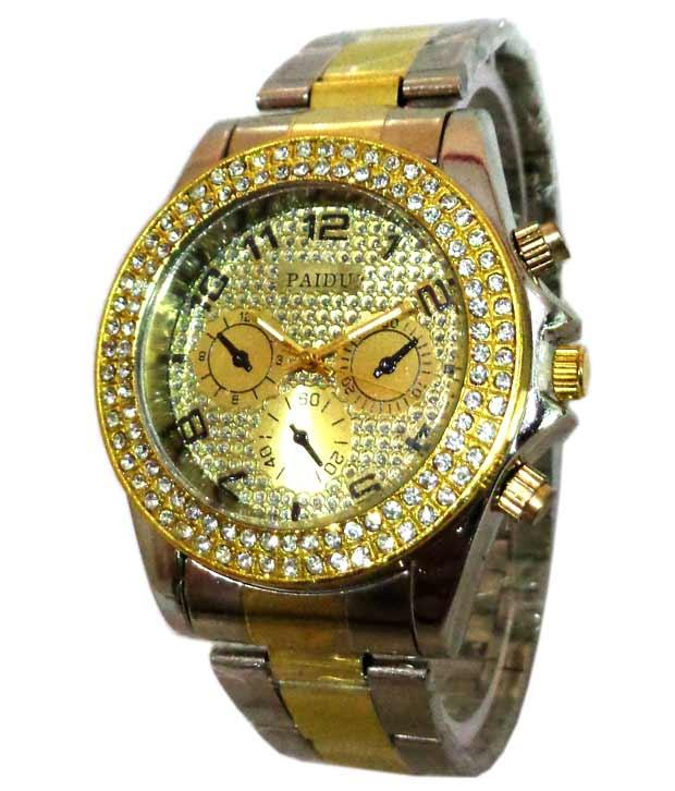 parienterprise Paidu Silver Combo Watches