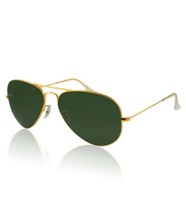 bestzone Aviator Golden Sunglasses For Women