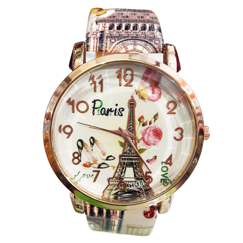Buy Paris Love Crystal Design Wrist Watch For Girls For Women at 63 ...