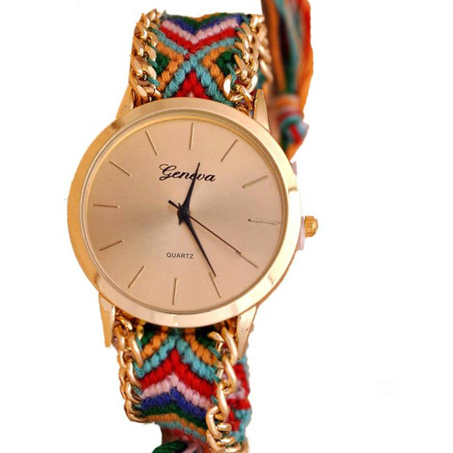 Buy yashmit geneva analog multicolour at lowest price yage15645tyo241110 kraftly for Watches for girls