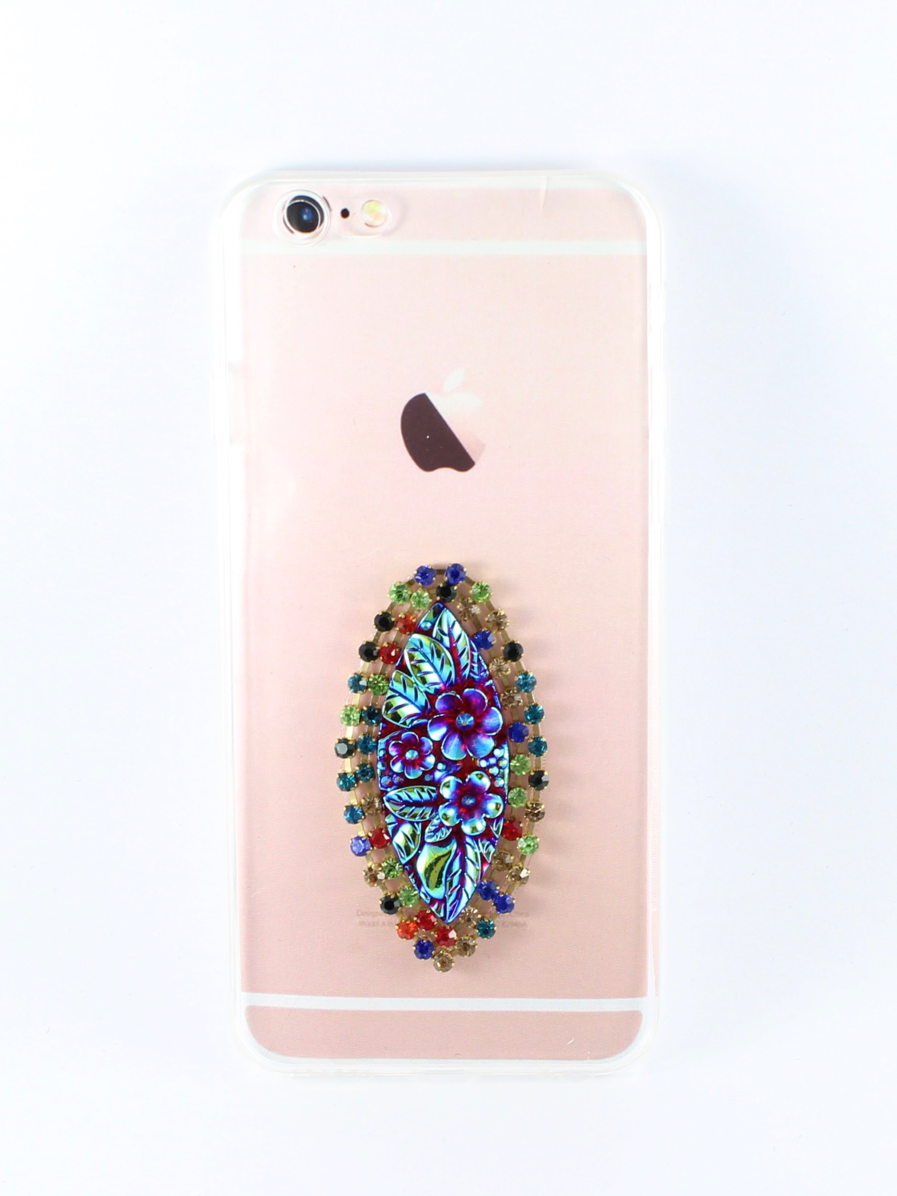 Oppo A57 Handmade Designer Bling 3d Multicolored Single Patch Acrylic Case By Kiintymys