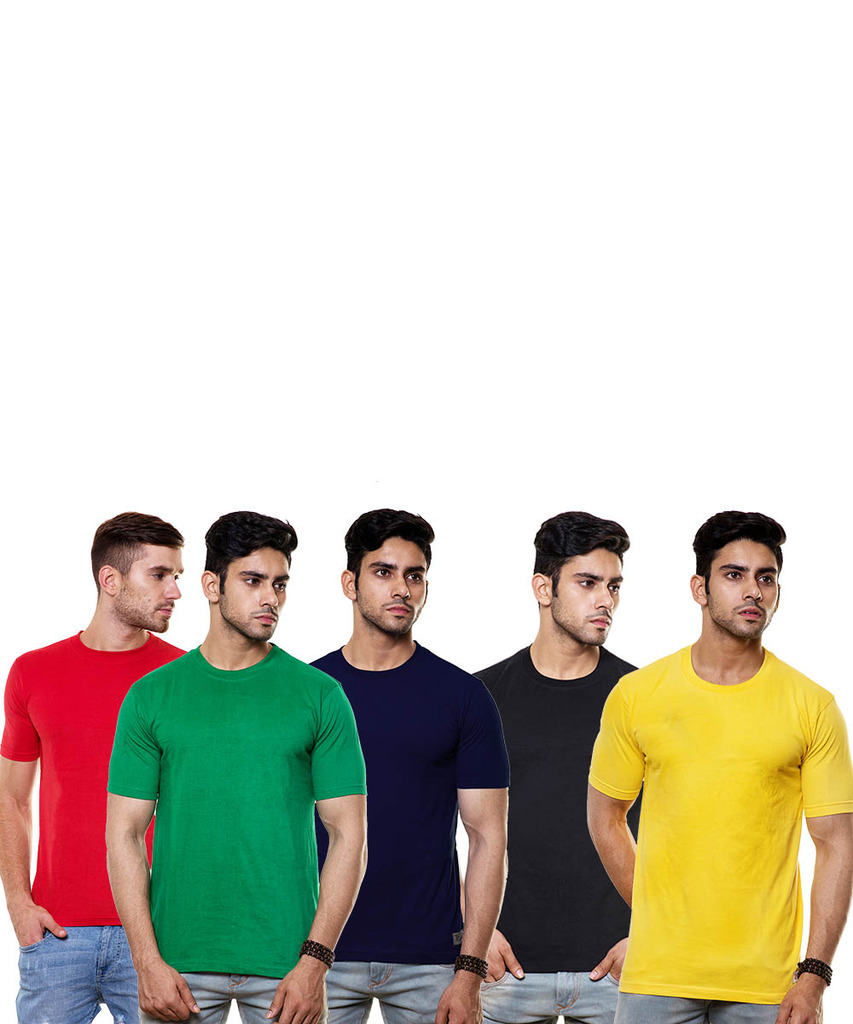 enquotism T-shirt Pack Of 5 Cp5092