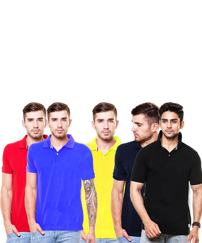 enquotism T-shirt Pack Of 5 Cp5049
