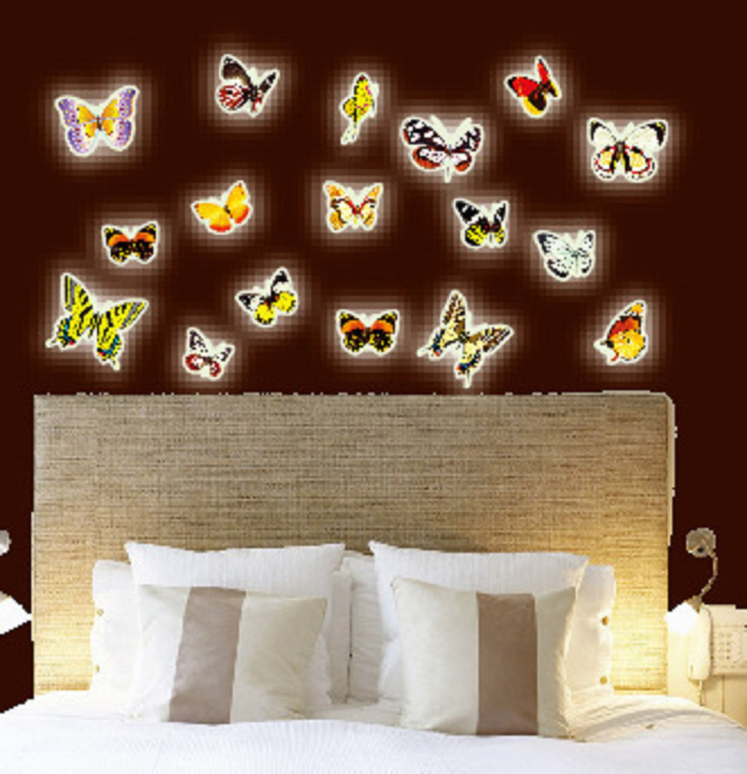 radium stickers for wall online india buy jaamso royals radium butterflies glow in dark wall sticker 21 cm x 29 7 cm at 48 off online india at kraftly y0bura21444qie052560
