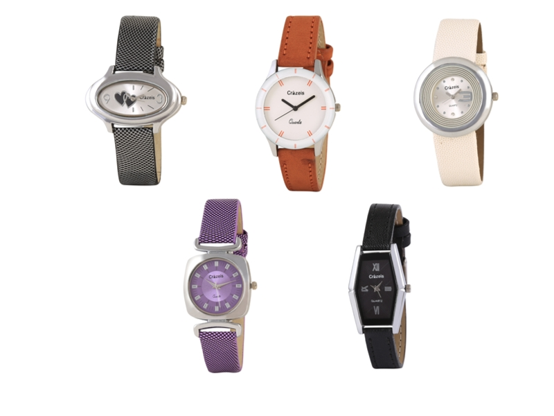 Crazeis Analog Watch Combo Of 5 For Women_075