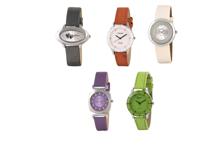 Crazeis Analog Watch Combo Of 5 For Women_066