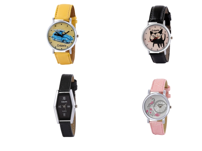 Crazeis Analog Watch Combo Of 4 For Women_062