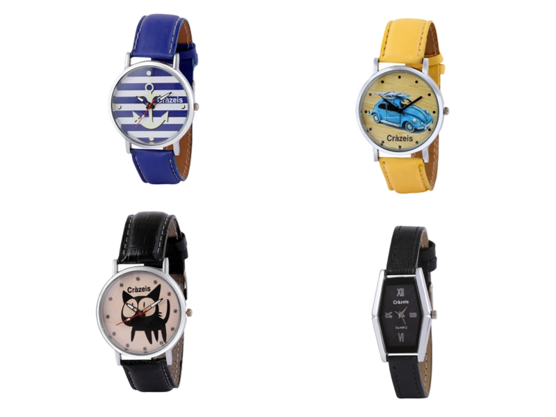 Crazeis Analog Watch Combo Of 4 For Women_058