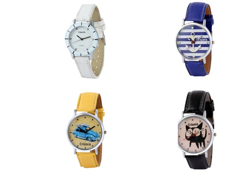 Crazeis Analog Watch Combo Of 4 For Women_054