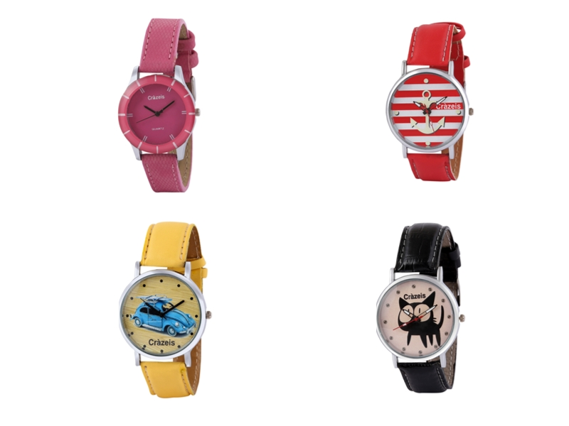 Crazeis Analog Watch Combo Of 4 For Women_053