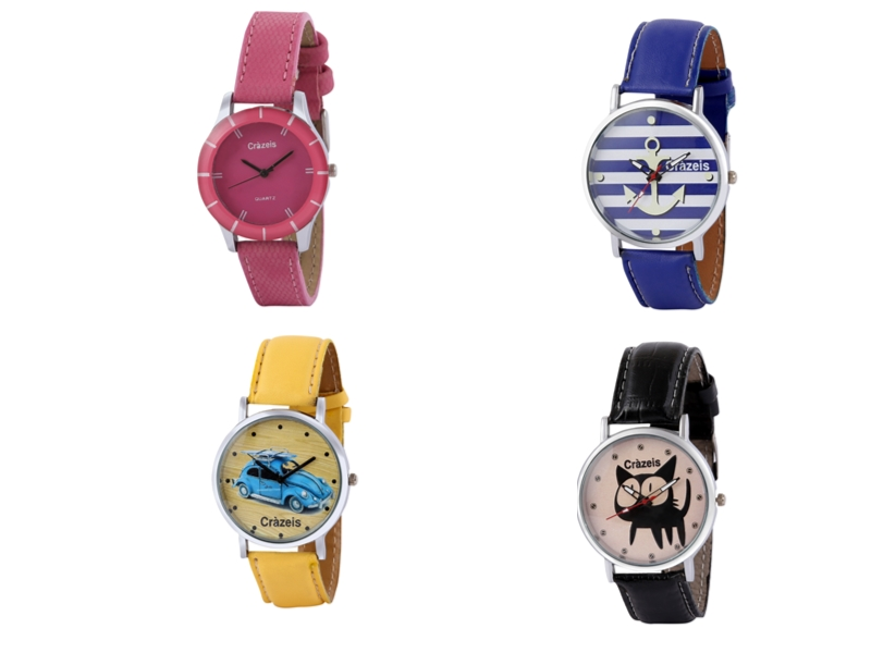 Crazeis Analog Watch Combo Of 4 For Women_052