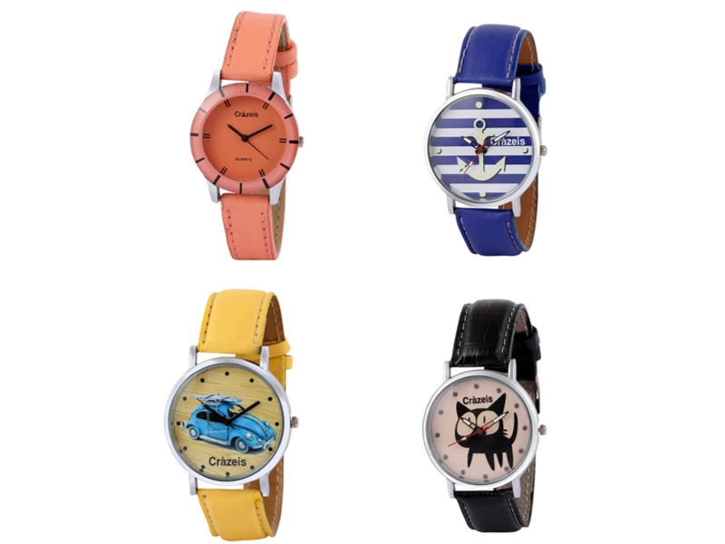Crazeis Analog Watch Combo Of 4 For Women_050