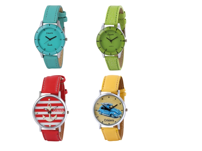 Crazeis Analog Watch Combo Of 4 For Women_039