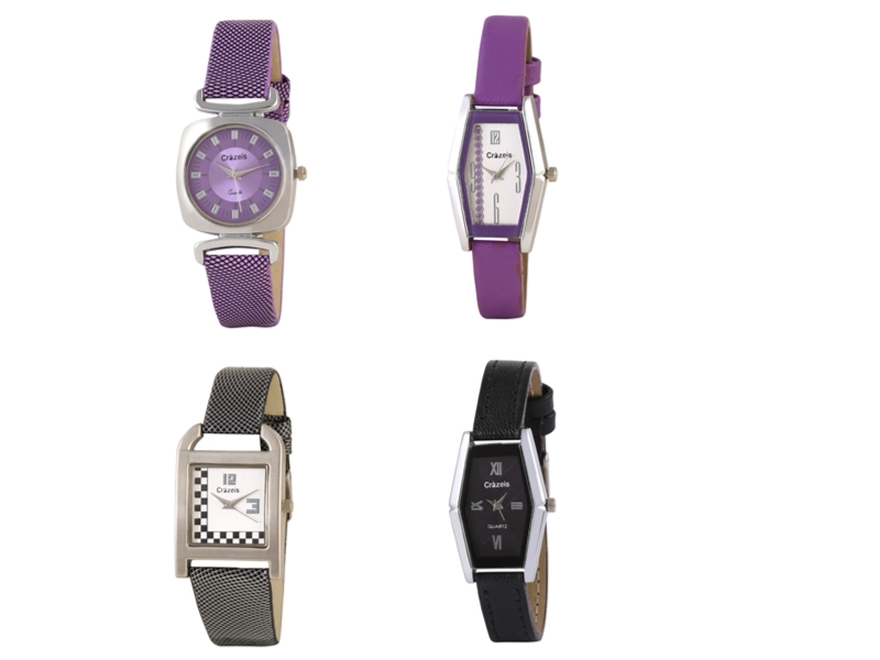 Crazeis Analog Watch Combo Of 4 For Women_020