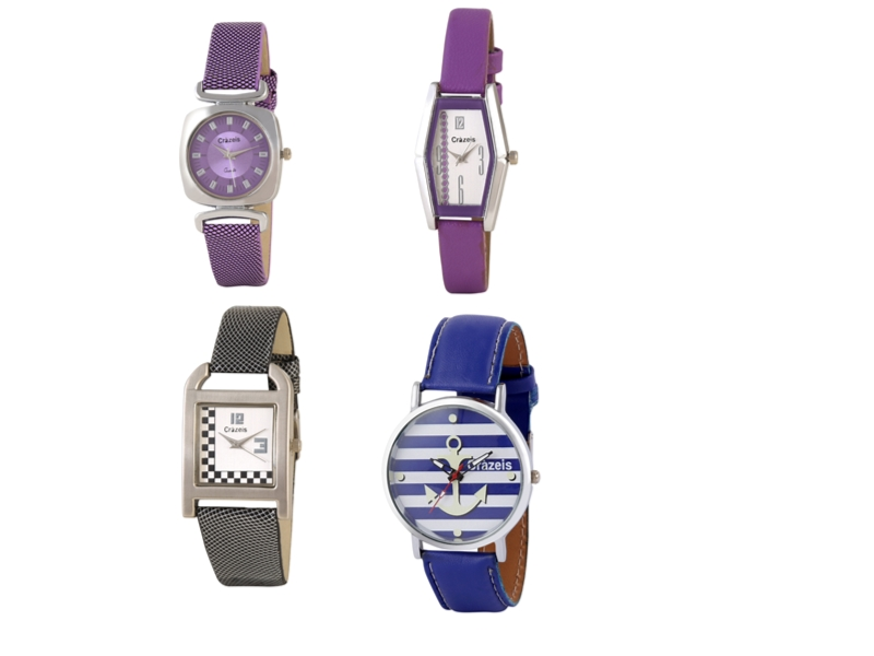 Crazeis Analog Watch Combo Of 4 For Women_016