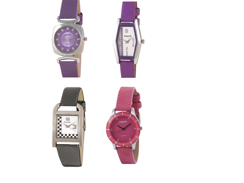 Crazeis Analog Watch Combo Of 4 For Women_013