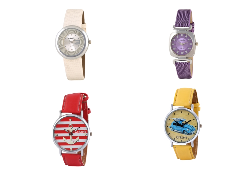 Crazeis Analog Watch Combo Of 4 For Women_009