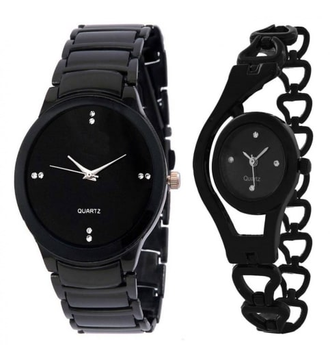 buy watch girls and men combo watch at lowest price
