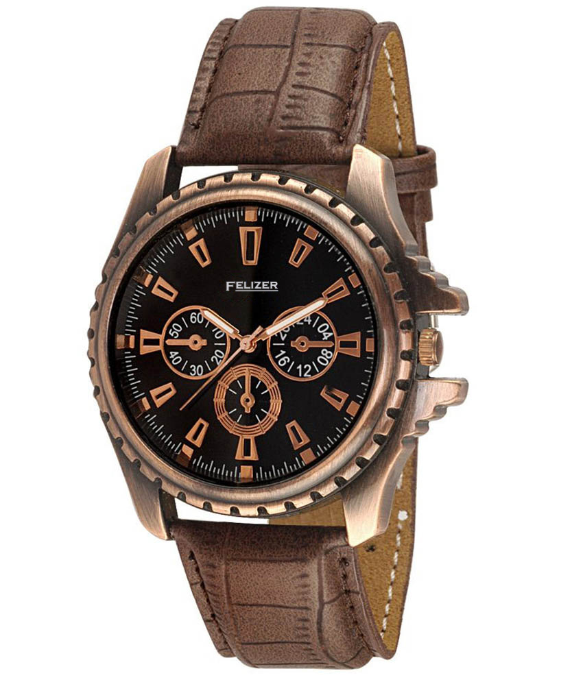 buy leather belt watch at 77 off online india at kraftly