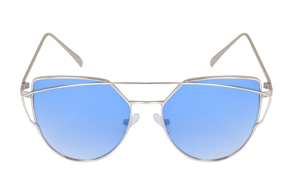 notjustiaras New 2017 Sunglasses Trendy Stylish Eyewear (true Blue)