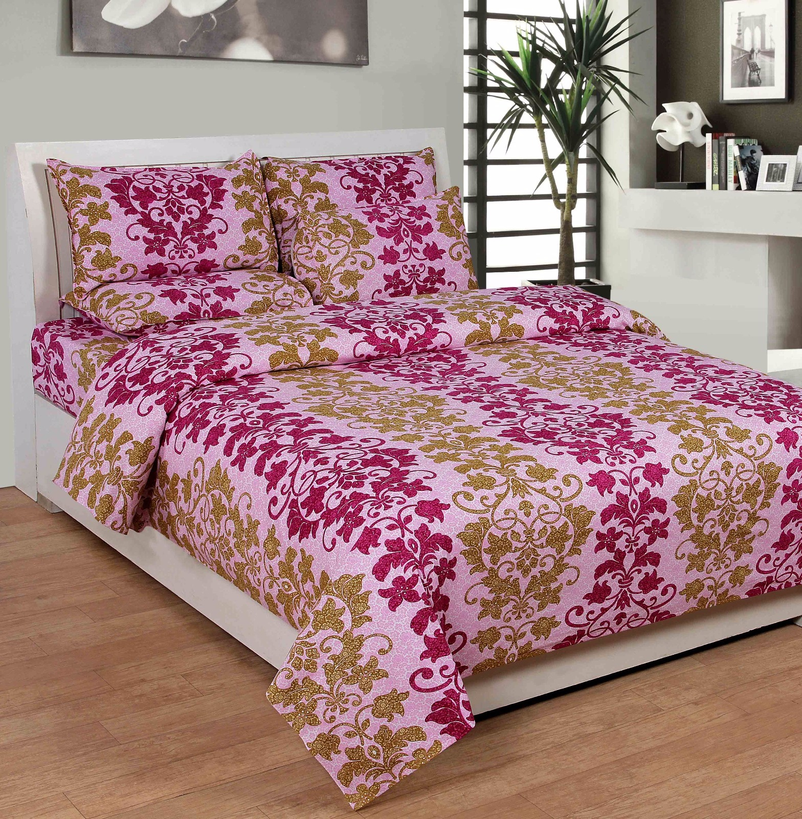 buy best deal bed sheetcottonwa0036 at 42 off in india kraftly june 2018. Black Bedroom Furniture Sets. Home Design Ideas