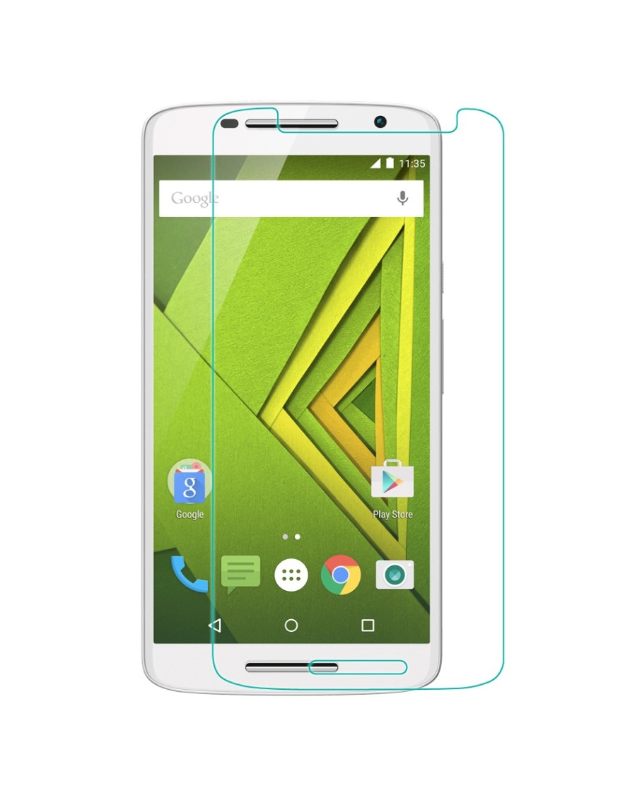 marshlandtechnology Marshland  Moto X Play High Quality Screen Protector 2.5d Round Edge 0.33mm Thickness 9h Hardness.