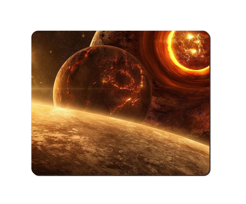 arbonmonk Design Lab Cosmic Galaxy Hubble Photography Mouse Pad, Speed-type Precision Gaming Mouse Pad, Non Slip Base