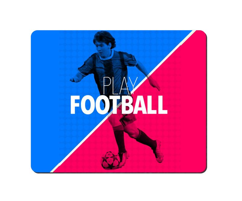 arbonmonk Design Lab Play Football Mouse Pad, Speed-type Precision Gaming Mouse Pad, Non Slip Base