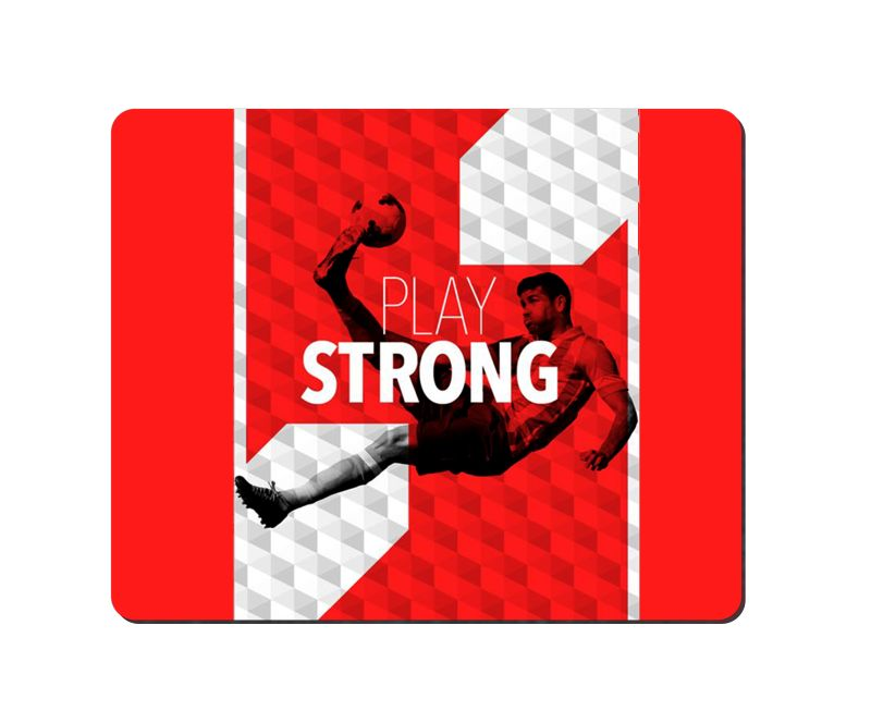 arbonmonk Design Lab Play Strong Mouse Pad, Speed-type Precision Gaming Mouse Pad, Non Slip Base