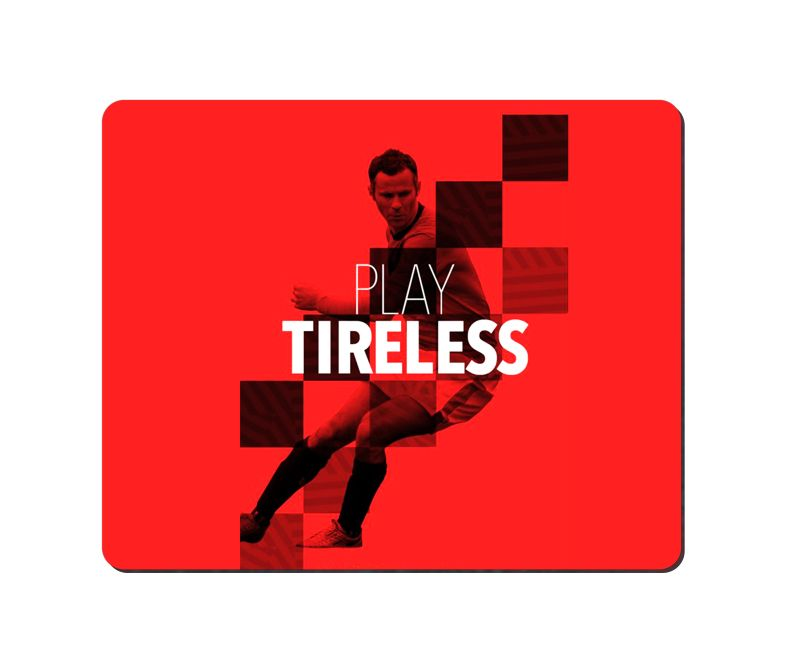 arbonmonk Design Lab Play Tireless Mouse Pad, Speed-type Precision Gaming Mouse Pad, Non Slip Base