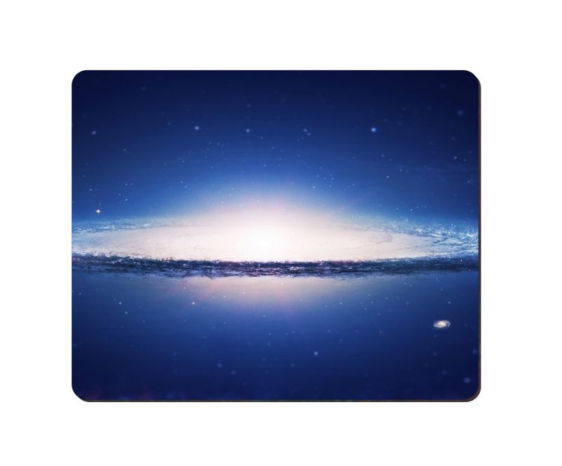 arbonmonk Design Lab Spiral Galaxy Cosmic Art Mouse Pad, Speed-type Precision Gaming Mouse Pad, Non Slip Base
