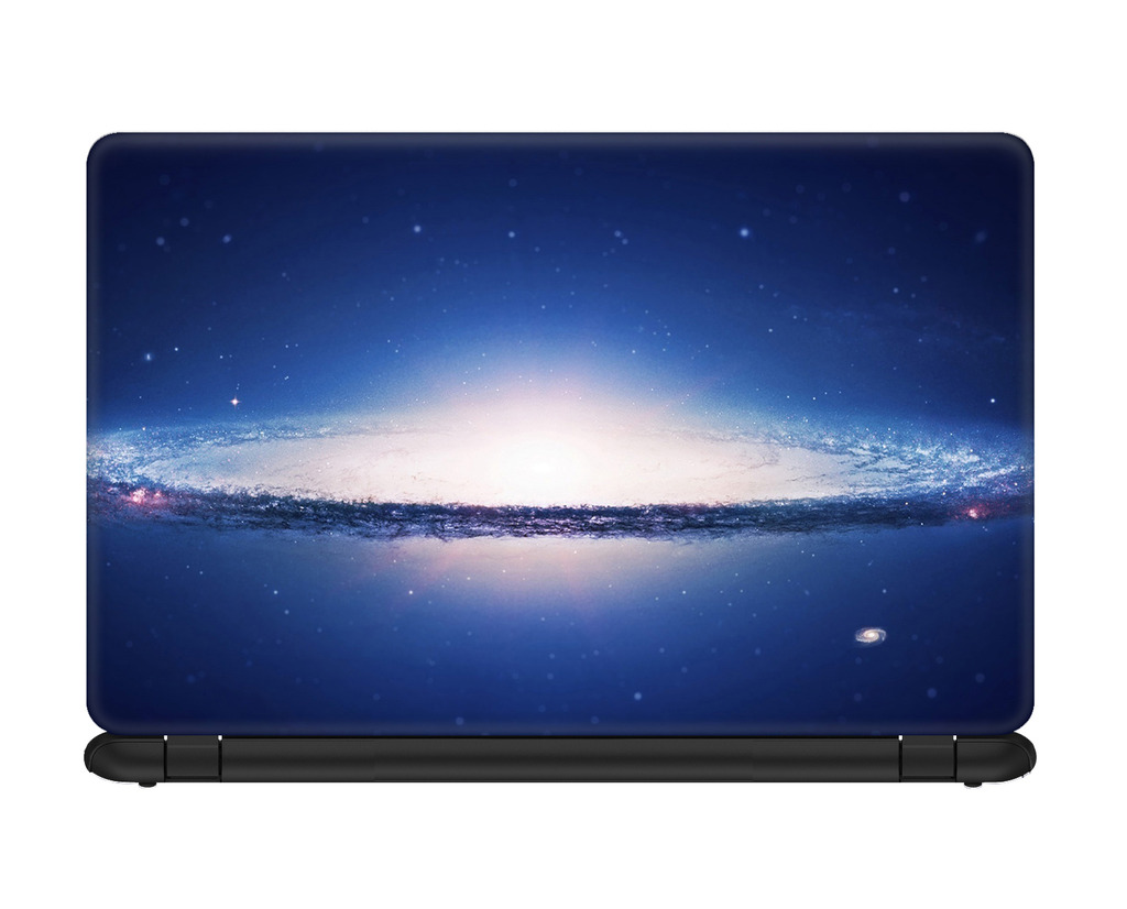 arbonmonk Design Lab Spiral Galaxy Cosmic Art Laptop Skin For 14.1 Inches Laptop, Compatible For Dell-lenovo-acer-hp-vaio-samsung Laptops [hd Print - Matte Lam