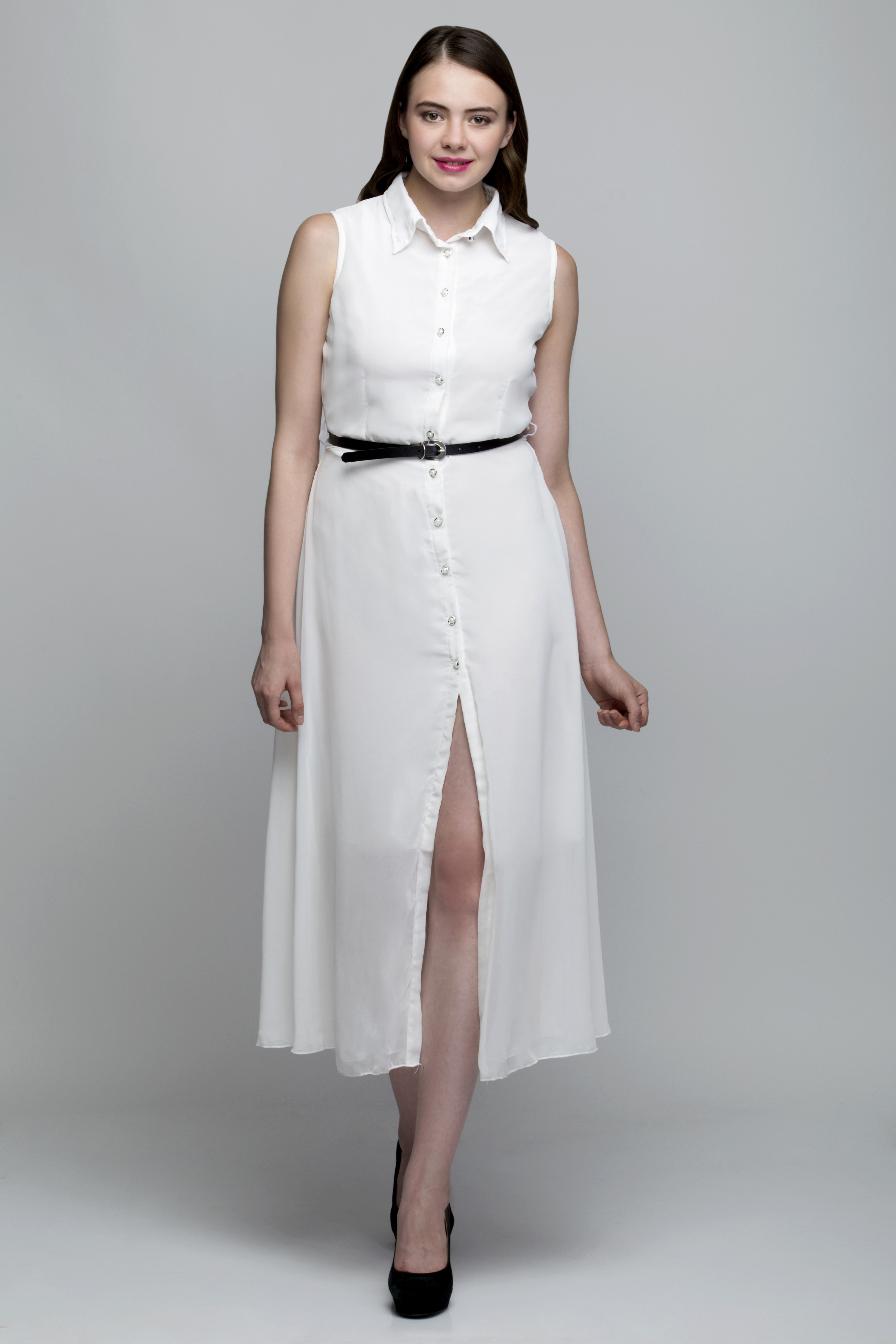 Buy white aline shirt dress at 50 off in india kraftly for Buy white dress shirt