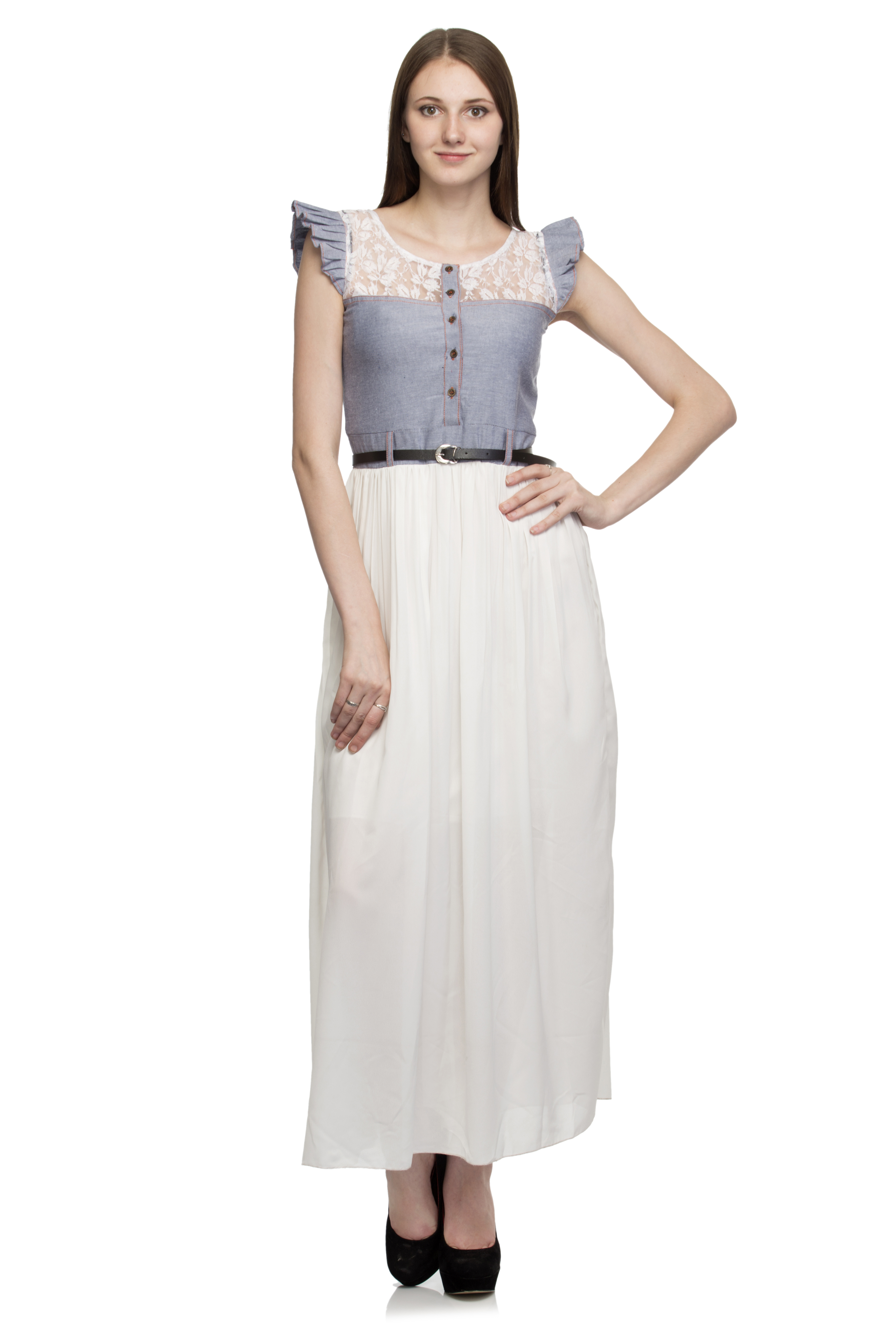 Buy white long shirt dress for women at 54 off in india for Buy white dress shirt