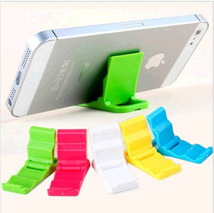 onlineretailstore Universal Mobile Holder Can Be Used As Key Ring, Colorful ( Set Of 10 Pieces )