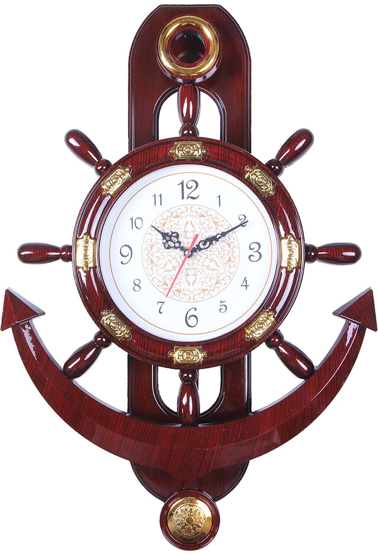 Buy Ariel Brown Pendulum Wall Clock Full at Lowest Price ...