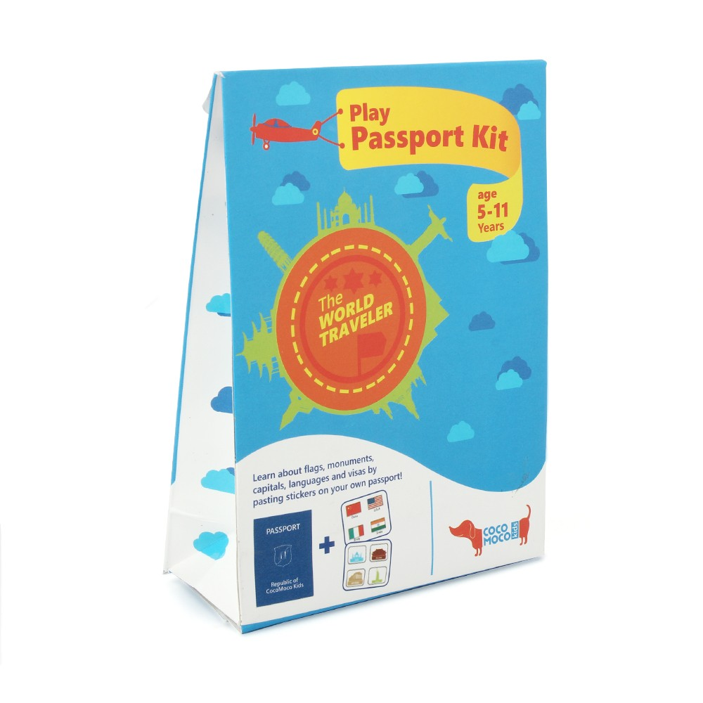 Buy Play Passport Kit Educational Geography at Lowest ...