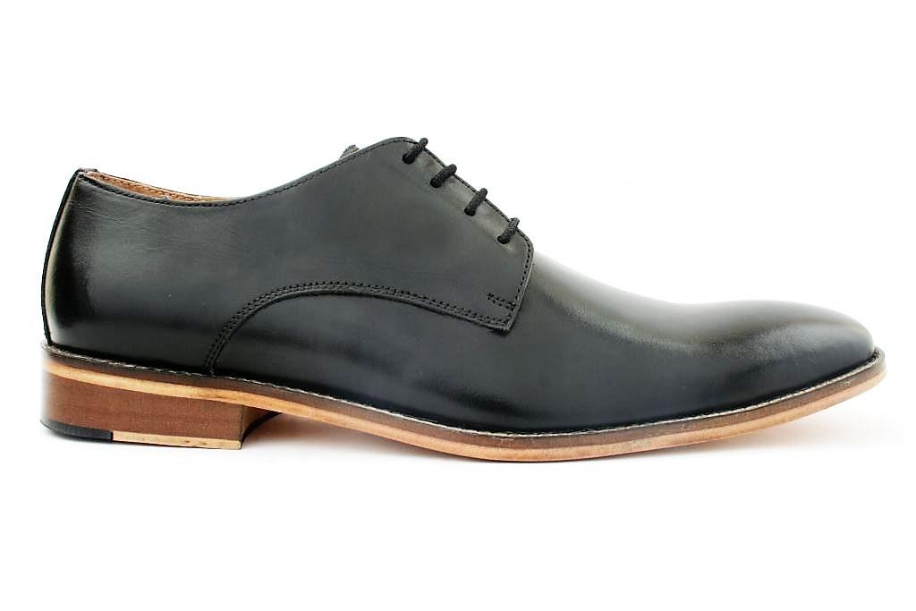 stepskartcom Gekko Men Black Formal Shoes