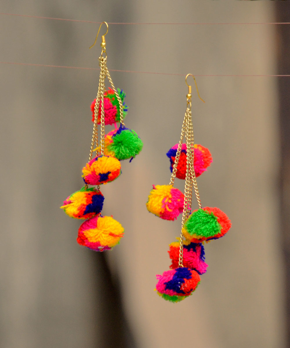 en boutique color mayan multicolor earrings multi