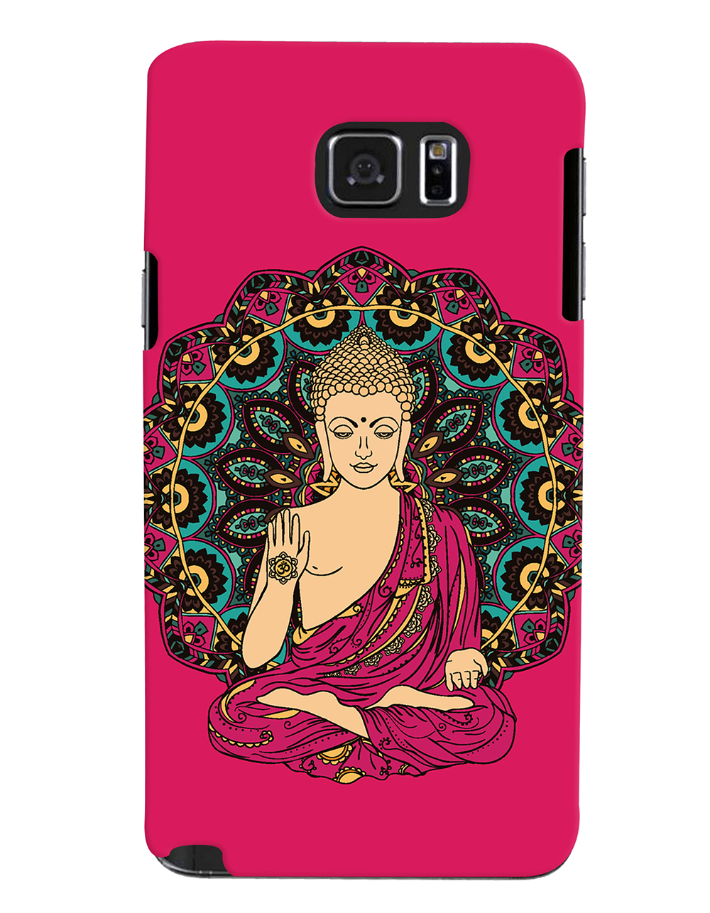 Buy Lord Buddha Devotional Printed Designer Back Cover For Samsung Galaxy Note 5 Mobile Phone