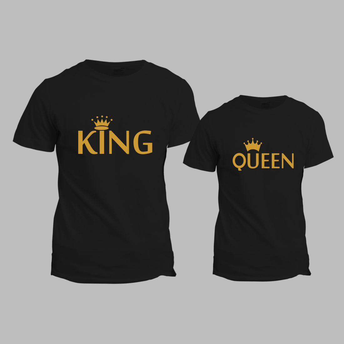 Buy uniplanet king queen couple t shirt at 31 off in for Buy couple t shirts online india