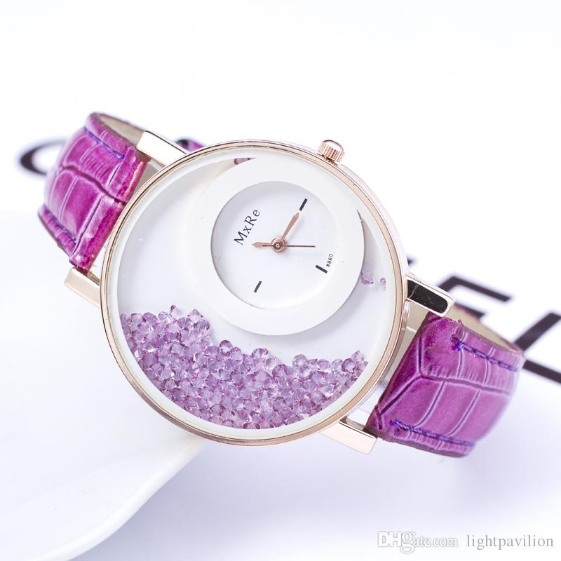 Buy Purple Diamond Watch For Women at 36% off Online India at ...