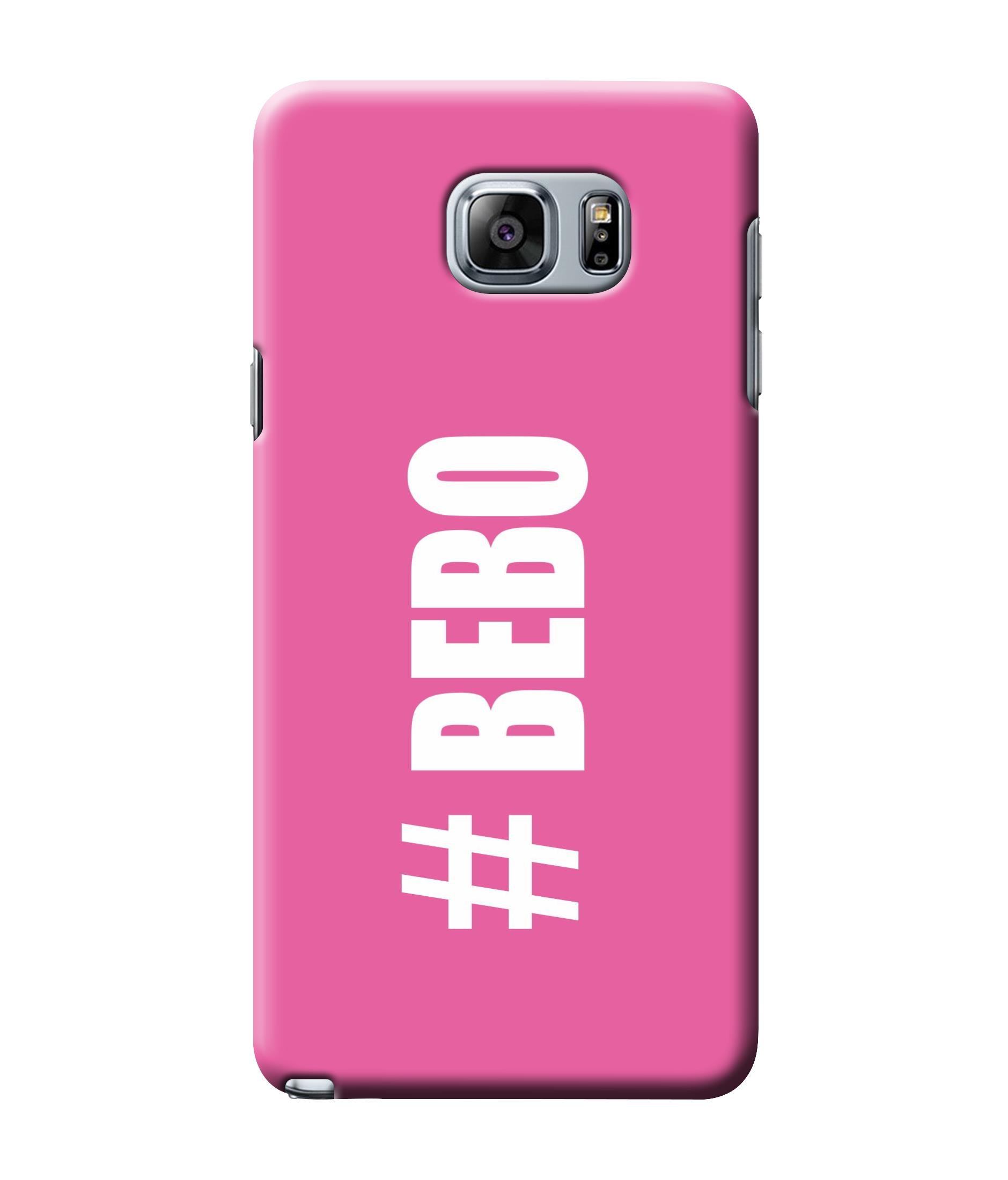caseophile2 Samsung Galaxy Note 5 Bebo Pink Mobile Case