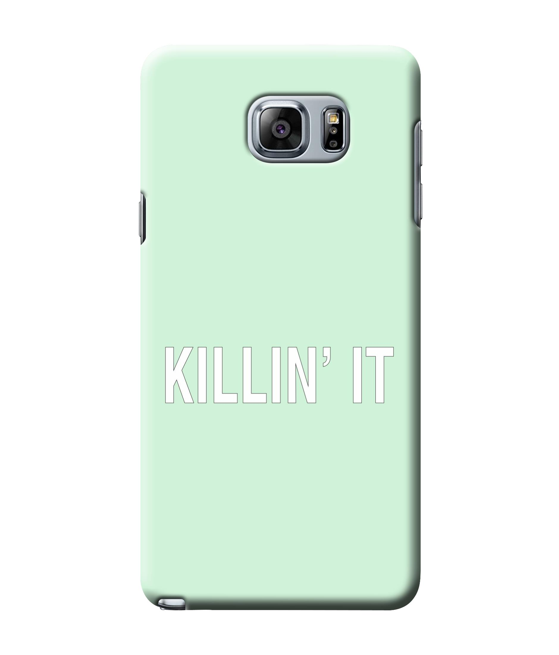 caseophile2 Samsung Galaxy Note 5 Killing It Green Mobile Case