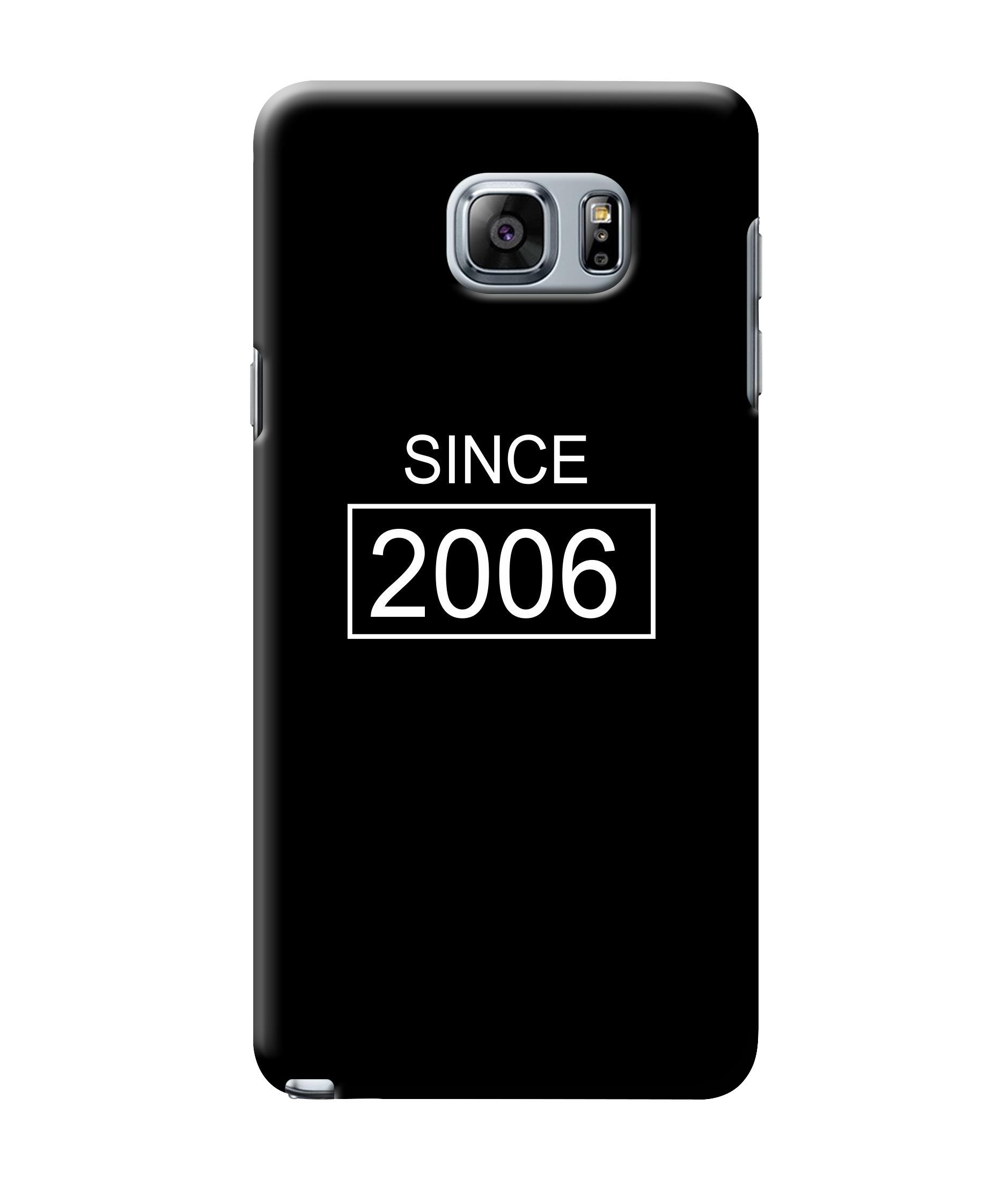 caseophile2 Samsung Galaxy Note 5 Since 2006 Mobile Case