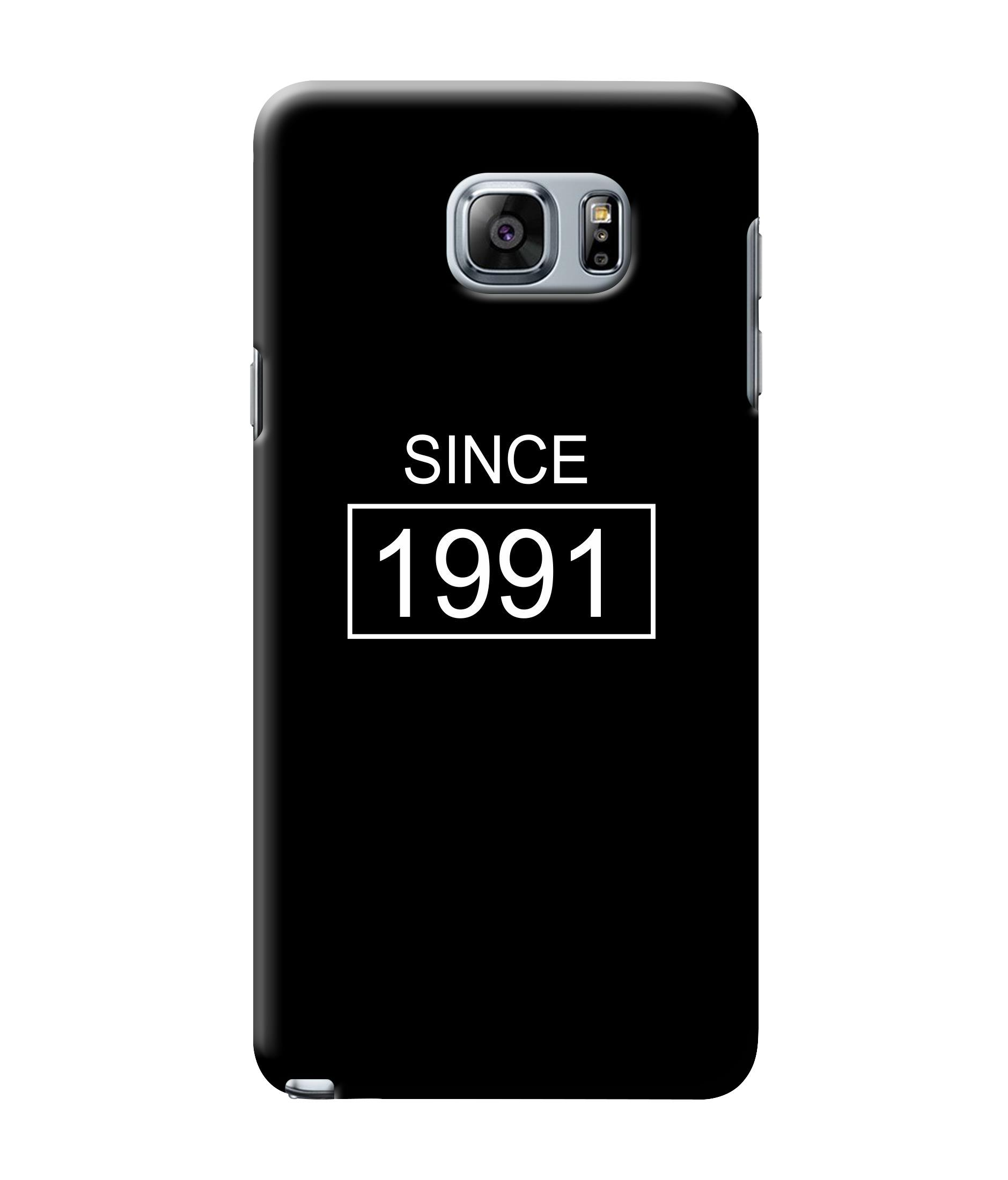 caseophile2 Samsung Galaxy Note 5 Since 1991 Mobile Case
