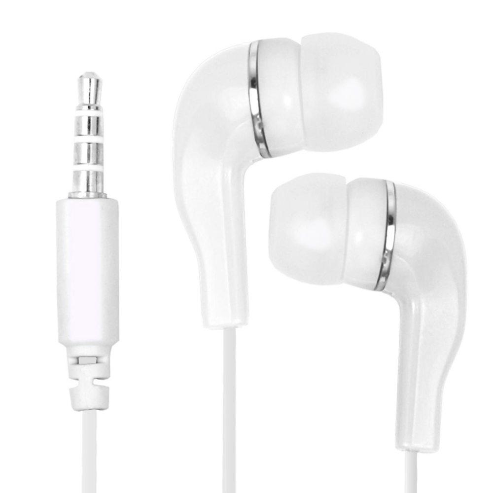 fashionbeat Earphone / Handsfree For Motorola Moto X Play With 3.5mm Jack - White
