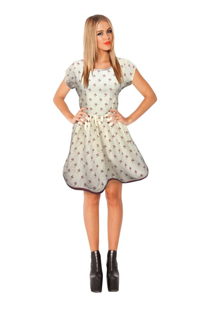 regonsell2 Karishma Micro Color Printed Western Dress